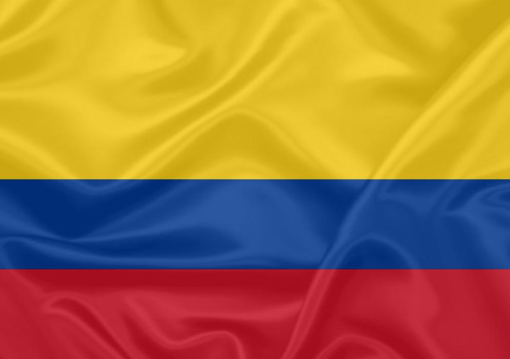 bandeira da col244mbia