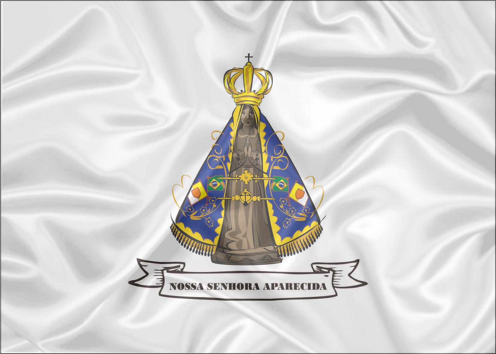 Santo Nosso Fotos Nossa Senhora Aparecida: Bandeira Nossa Senhora Aparecida